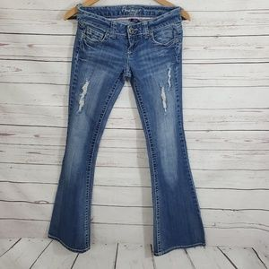 Amethyst Jeans Flare 1